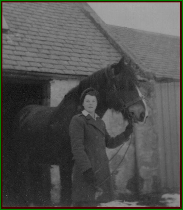 Rosalind Elder with Horse-Teamster